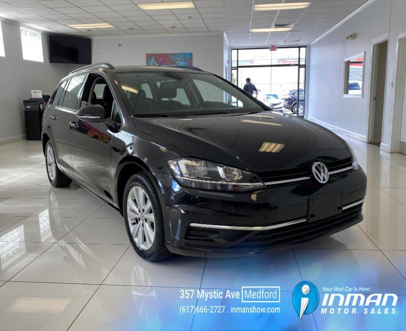 Used Volkswagen Golf SportWagen 1.8T S Auto 4MOTION 2019   Inman Motors Sales. Medford, Massachusetts