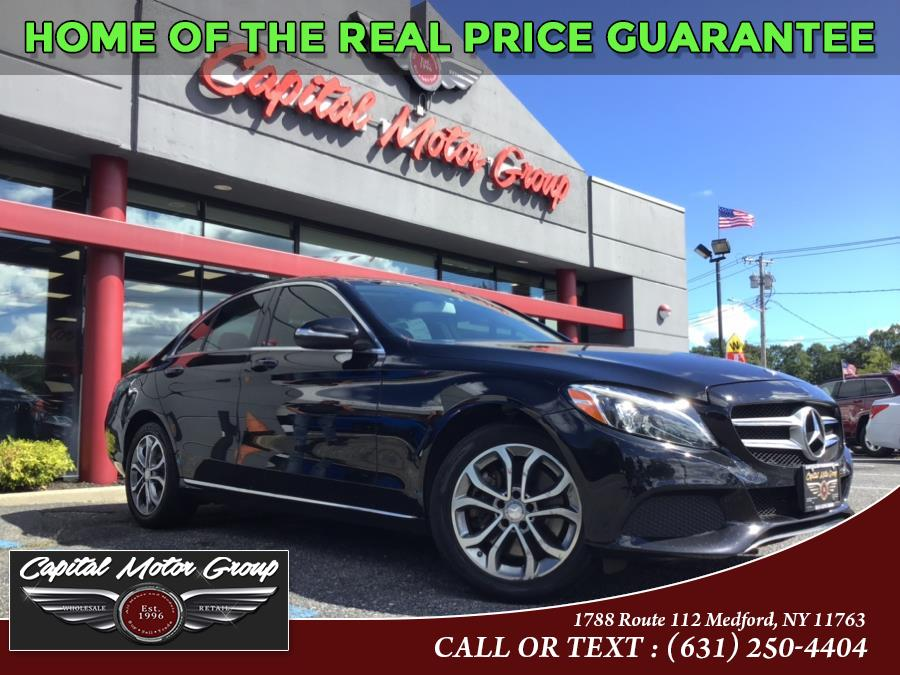 Used Mercedes-Benz C-Class 4dr Sdn C 300 Luxury 4MATIC 2015 | Capital Motor Group Inc. Medford, New York