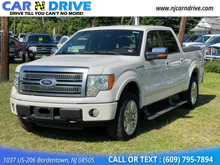 Used Ford F-150 Platinum 5.5-ft. Bed 4WD 2010 | Car N Drive. Bordentown, New Jersey