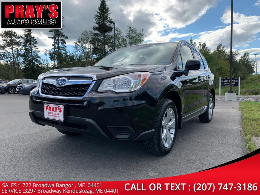 Used Subaru Forester 4dr CVT 2.5i Premium PZEV 2016 | Pray's Auto Sales . Bangor , Maine