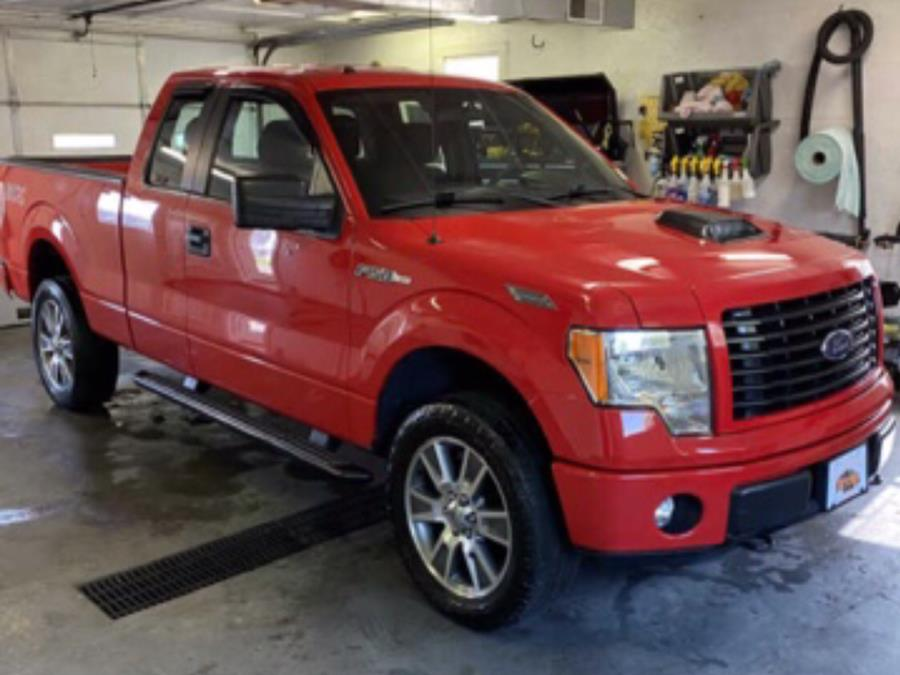"""Used Ford F-150 4WD SuperCab 145"""" STX 2014   Maine Central Motors. Pittsfield, Maine"""
