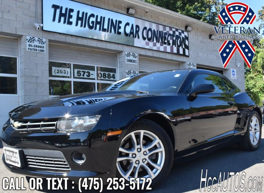 Used Chevrolet Camaro 2dr Cpe LT w/1LT 2014 | Highline Car Connection. Waterbury, Connecticut