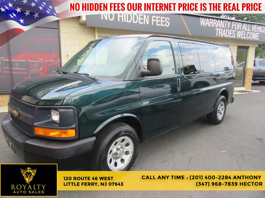 """Used Chevrolet Express Passenger RWD 1500 135"""" 1LS 2012   Royalty Auto Sales. Little Ferry, New Jersey"""