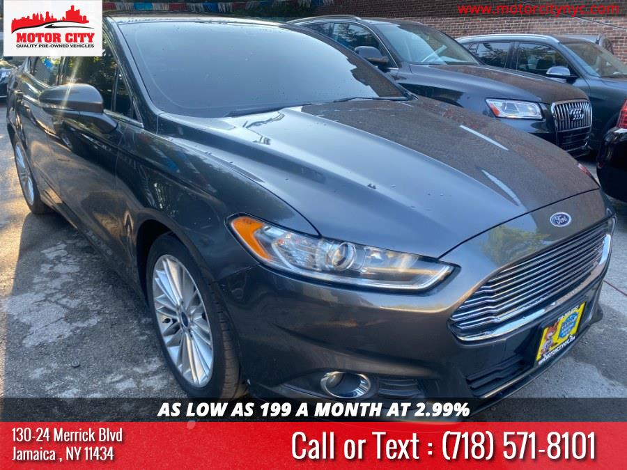 Used Ford Fusion 4dr Sdn SE AWD 2016 | Motor City. Jamaica, New York