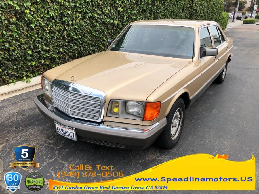 Used 1983 Mercedes-Benz 380 Series in Garden Grove, California   Speedline Motors. Garden Grove, California