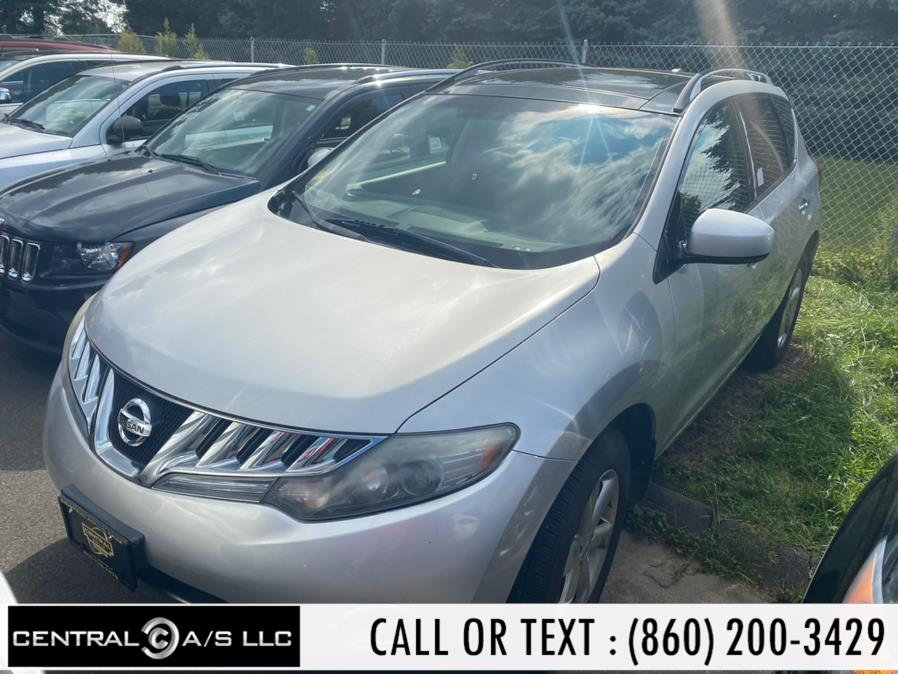 Used Nissan Murano AWD 4dr S 2009 | Central A/S LLC. East Windsor, Connecticut