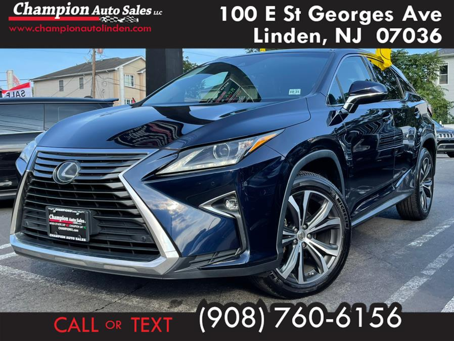 Used 2016 Lexus RX 350 in Linden, New Jersey | Champion Used Auto Sales. Linden, New Jersey