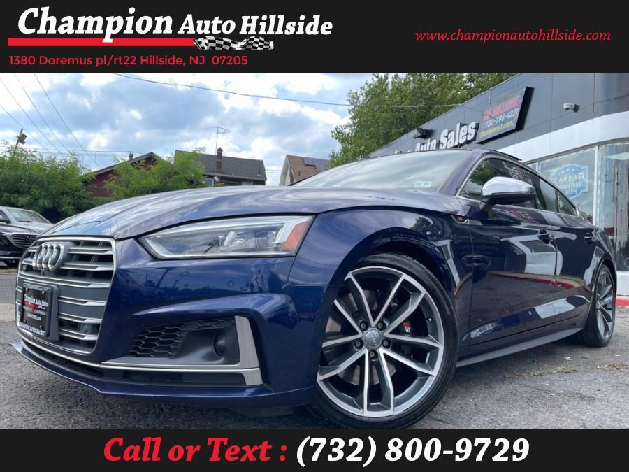 Used 2018 Audi S5 Sportback in Hillside, New Jersey | Champion Auto Hillside. Hillside, New Jersey