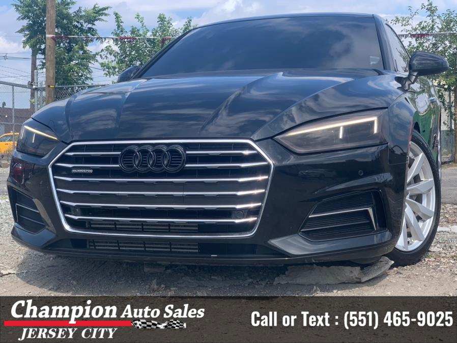 Used Audi A5 Coupe 2.0 TFSI Premium Plus S tronic 2018 | Champion Auto Sales of JC. Jersey City, New Jersey