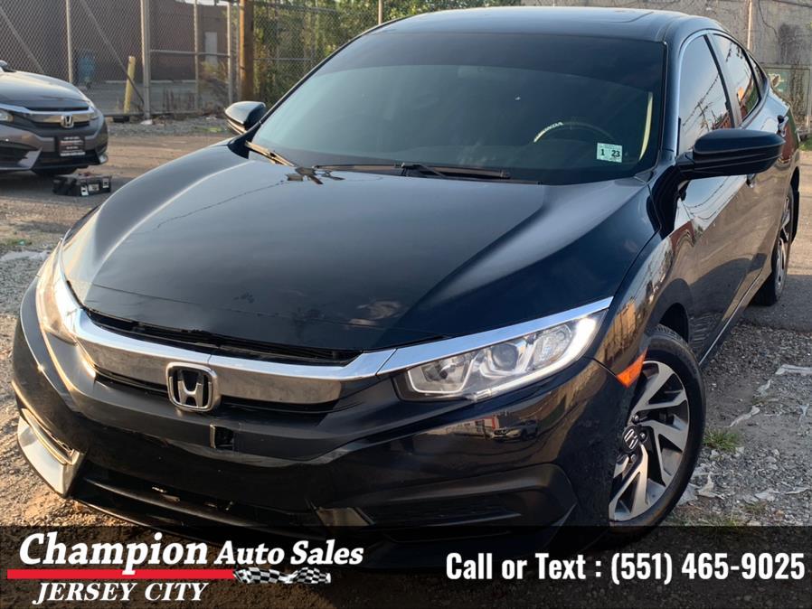 Used Honda Civic Sedan EX CVT 2018   Champion Auto Sales of JC. Jersey City, New Jersey