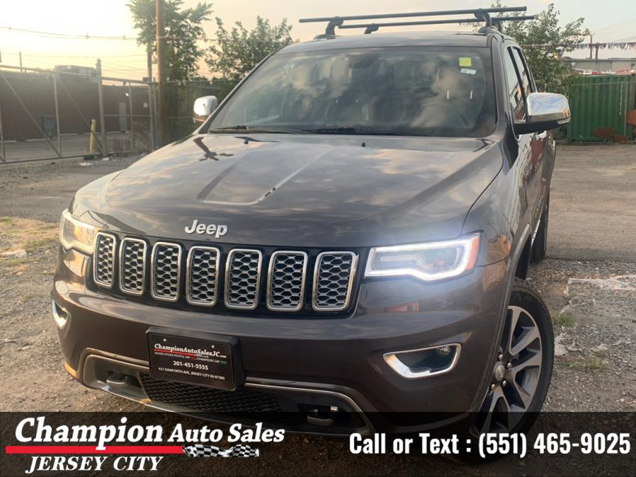 Used Jeep Grand Cherokee Overland 4x4 2018 | Champion Auto Sales of JC. Jersey City, New Jersey