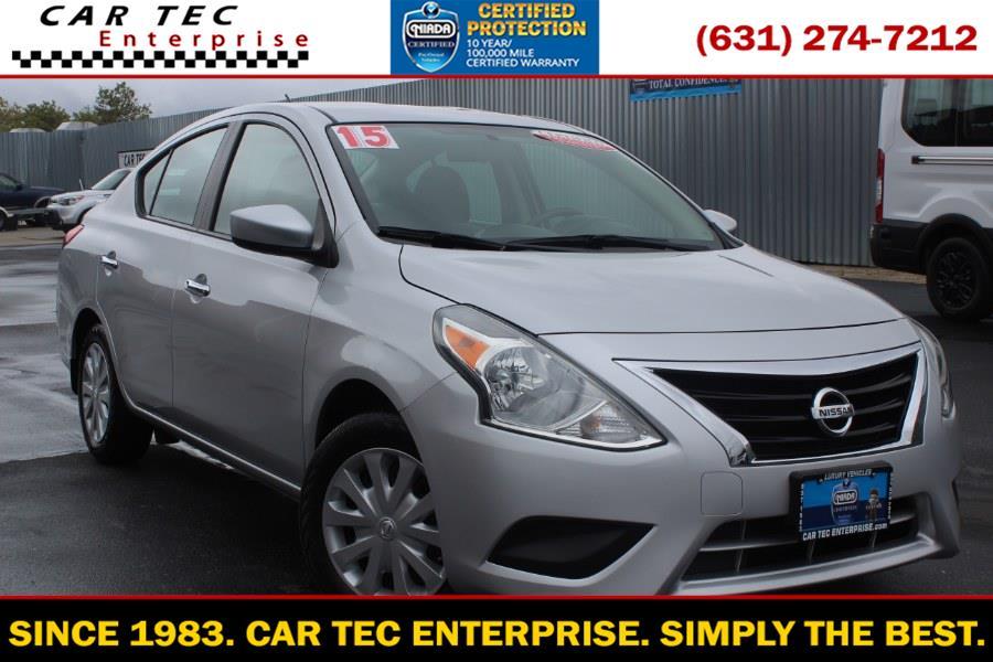 Used Nissan Versa 4dr Sdn CVT 1.6 SV 2015 | Car Tec Enterprise Leasing & Sales LLC. Deer Park, New York