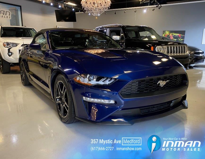 Used Ford Mustang EcoBoost Convertible 2020 | Inman Motors Sales. Medford, Massachusetts