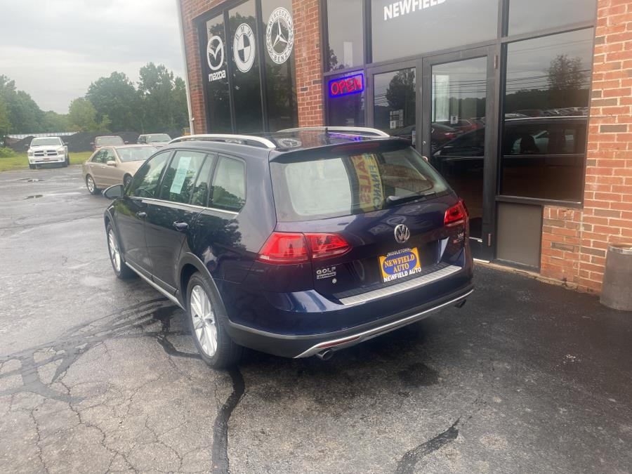 Used Volkswagen Golf Alltrack 1.8T SEL DSG 2017   Newfield Auto Sales. Middletown, Connecticut