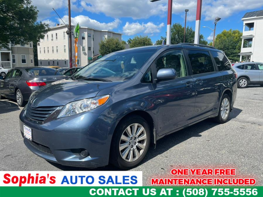Used 2015 Toyota Sienna in Worcester, Massachusetts   Sophia's Auto Sales Inc. Worcester, Massachusetts