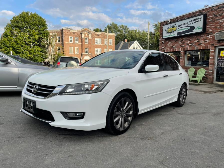 Used 2013 Honda Accord Sdn in New Britain, Connecticut | Central Auto Sales & Service. New Britain, Connecticut