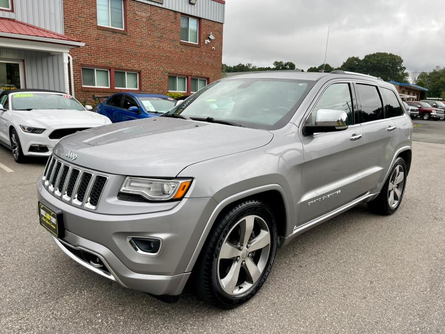 Used Jeep Grand Cherokee 4WD 4dr Overland 2015 | Mike And Tony Auto Sales, Inc. South Windsor, Connecticut