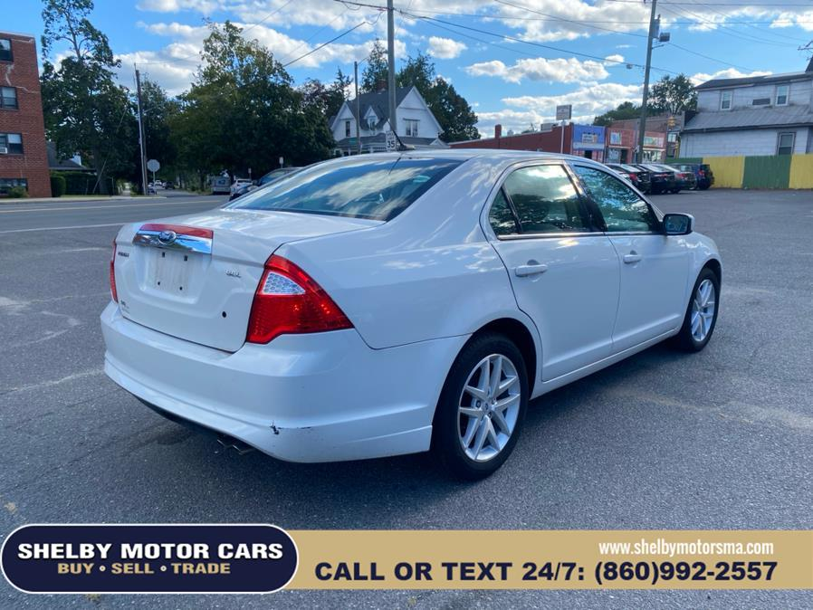 Used Ford Fusion 4dr Sdn SEL FWD 2012 | Shelby Motor Cars. Springfield, Massachusetts