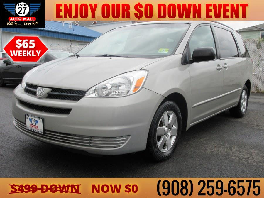 Used 2005 Toyota Sienna in Linden, New Jersey | Route 27 Auto Mall. Linden, New Jersey