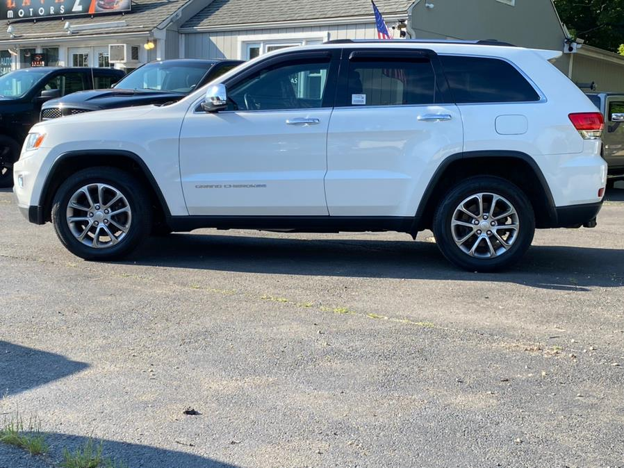 Used Jeep Grand Cherokee 4WD 4dr Limited 2014 | Lava Motors 2 Inc. Canton, Connecticut
