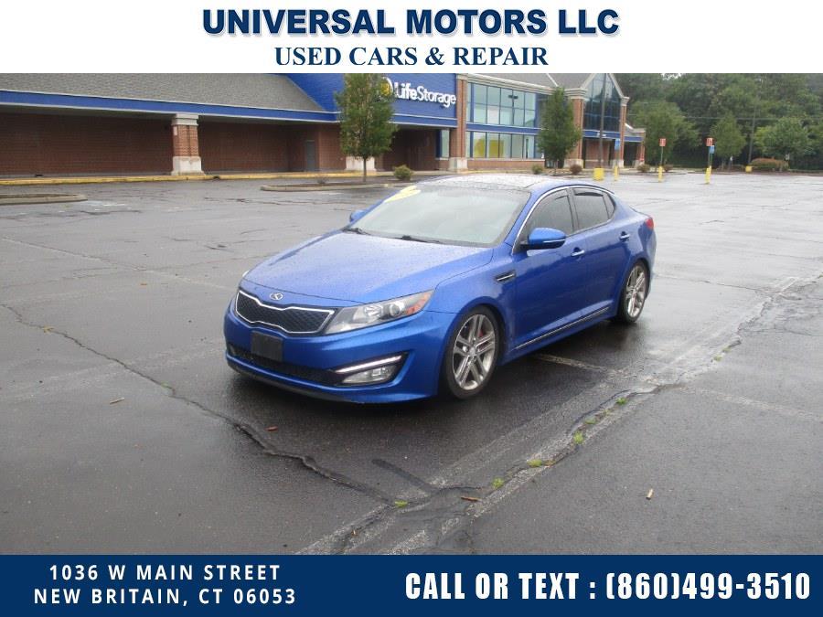 Used Kia Optima 4dr Sdn SX 2013   Universal Motors LLC. New Britain, Connecticut