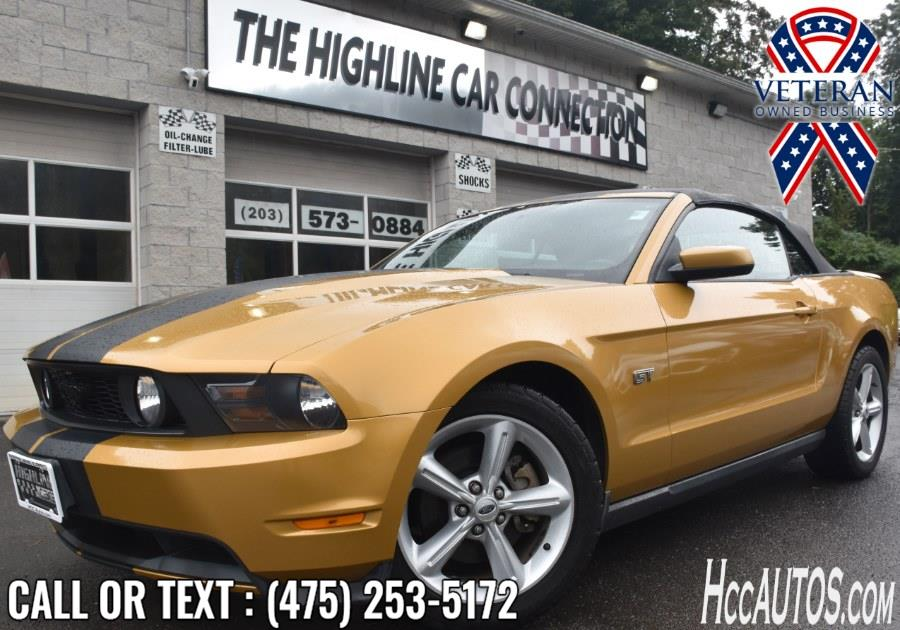 Used Ford Mustang 2dr Conv GT Premium 2010 | Highline Car Connection. Waterbury, Connecticut