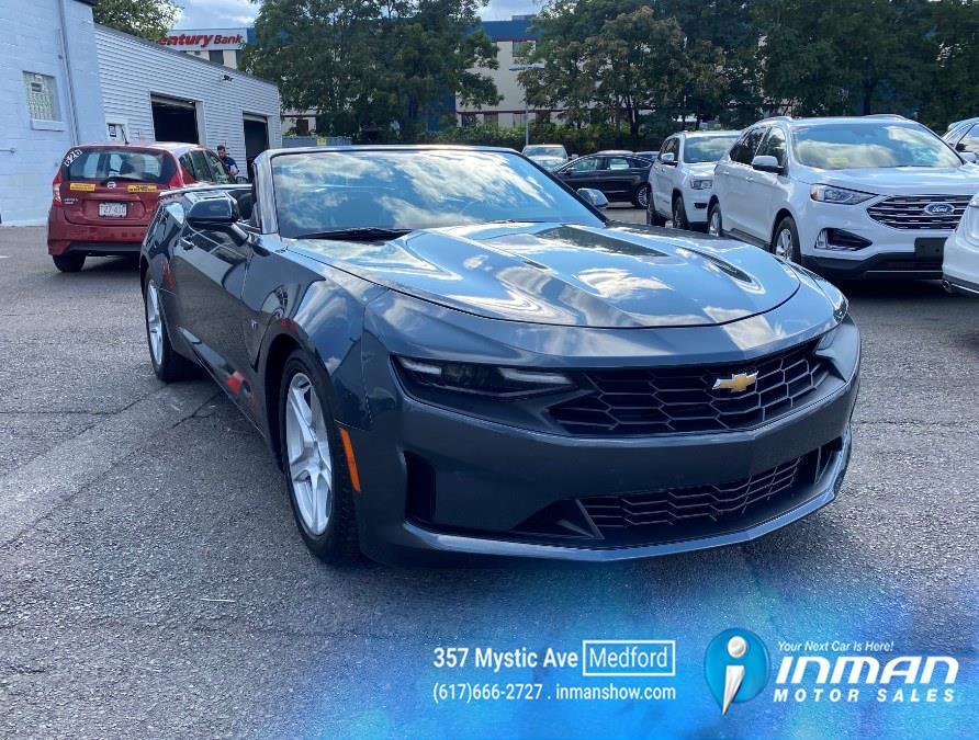 Used Chevrolet Camaro 2dr Conv 1LT 2020   Inman Motors Sales. Medford, Massachusetts