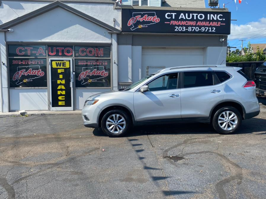 Used Nissan Rogue AWD 4dr SV 2015   CT Auto. Bridgeport, Connecticut