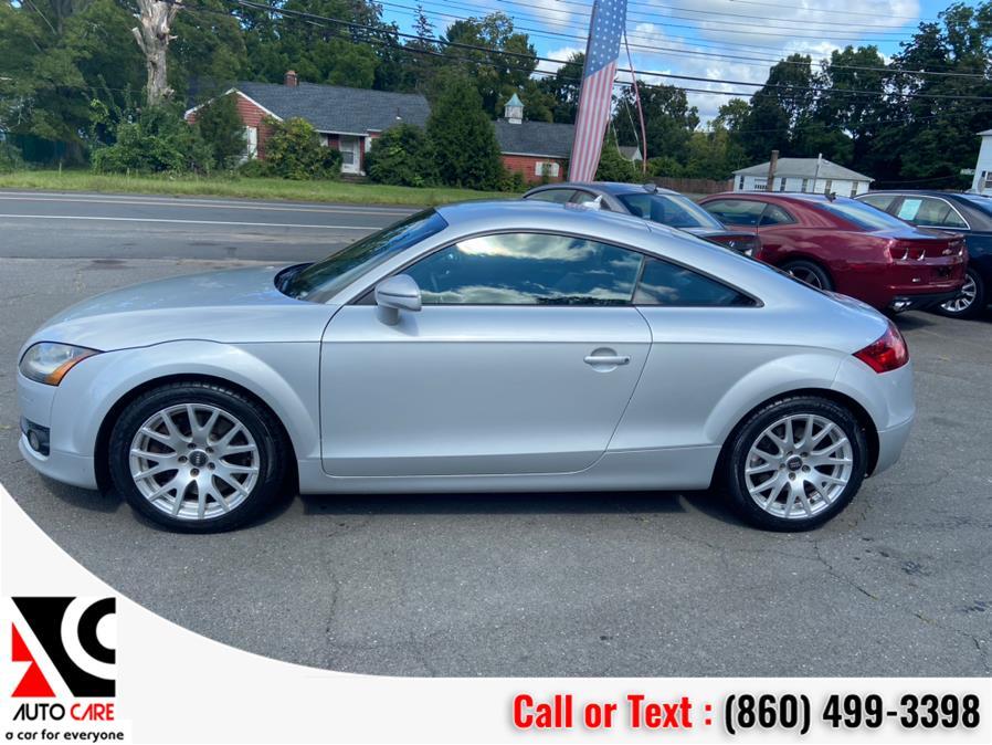 Used Audi TT 2dr Cpe Auto 3.2L quattro 2008 | Auto Care Motors. Vernon , Connecticut