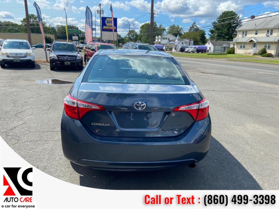Used Toyota Corolla 4dr Sdn CVT LE (Natl) 2015 | Auto Care Motors. Vernon , Connecticut