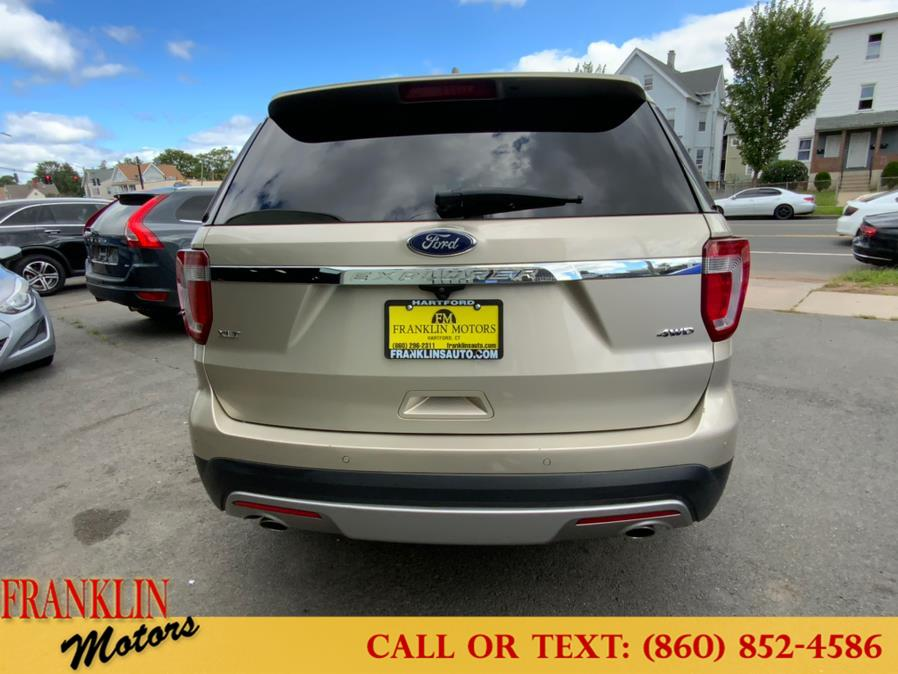 Used Ford Explorer XLT 4WD 2017   Franklin Motors Auto Sales LLC. Hartford, Connecticut