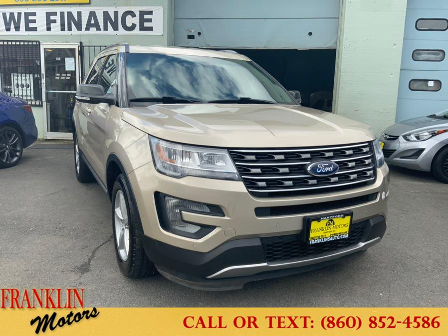 Used 2017 Ford Explorer in Hartford, Connecticut | Franklin Motors Auto Sales LLC. Hartford, Connecticut