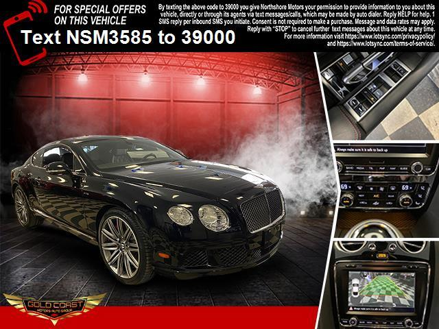 Used Bentley Continental GT Speed 2dr Cpe 2013   Sunrise Auto Outlet. Amityville, New York
