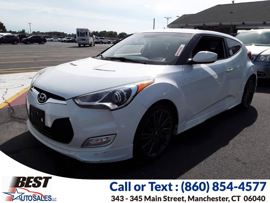 Used Hyundai Veloster 3dr Cpe Auto w/Black Int 2013 | Best Auto Sales LLC. Manchester, Connecticut