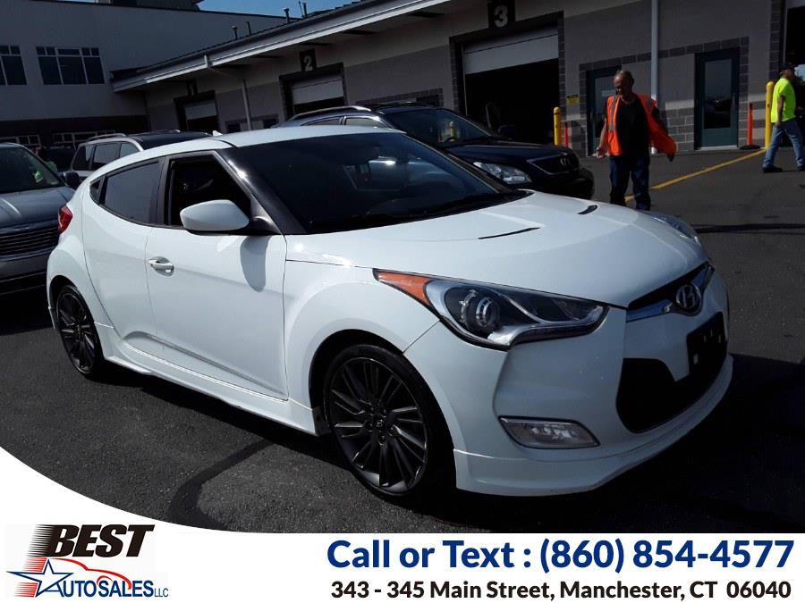Used Hyundai Veloster 3dr Cpe Auto w/Black Int 2013   Best Auto Sales LLC. Manchester, Connecticut