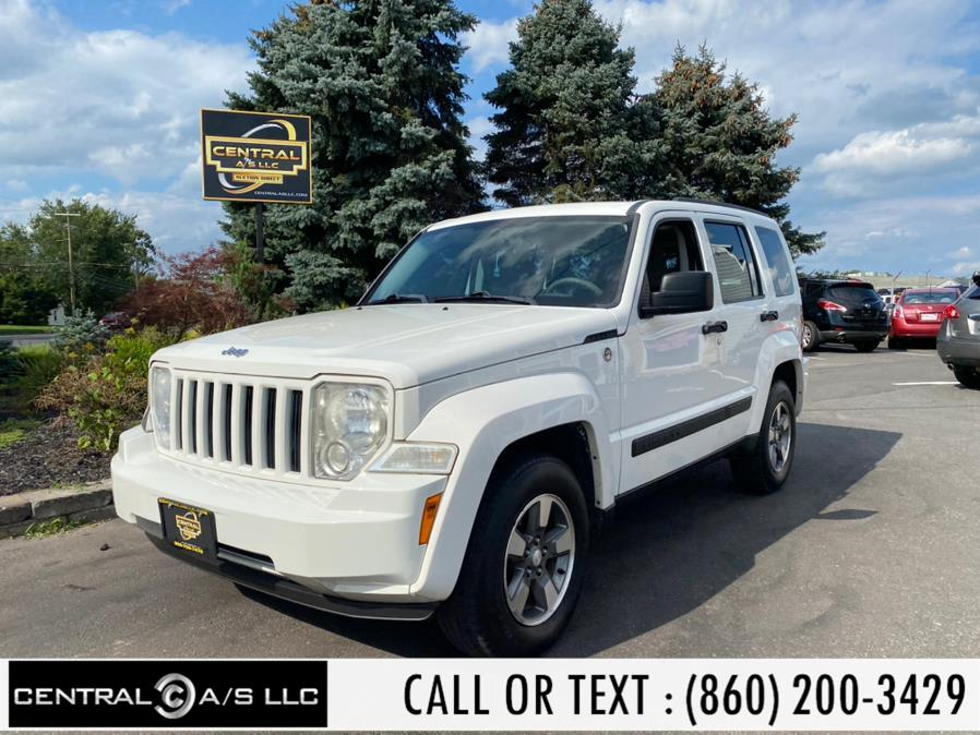 Used Jeep Liberty 4WD 4dr Sport 2008 | Central A/S LLC. East Windsor, Connecticut