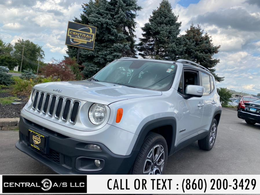 Used Jeep Renegade 4WD 4dr Limited 2016 | Central A/S LLC. East Windsor, Connecticut