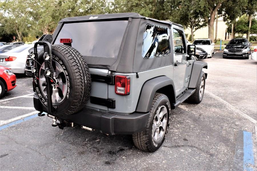 Used Jeep Wrangler 4WD 2dr Sport 2015 | Rahib Motors. Winter Park, Florida