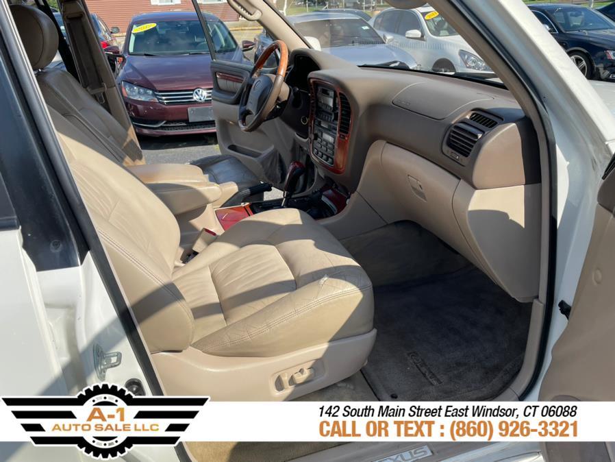 Used Lexus LX 470 4dr SUV 2000   A1 Auto Sale LLC. East Windsor, Connecticut