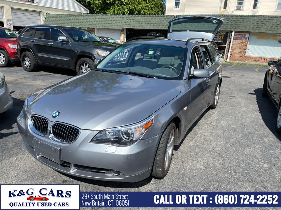 Used BMW 5 Series 4dr Sports Wgn 530xiT AWD 2007 | K and G Cars . New Britain, Connecticut