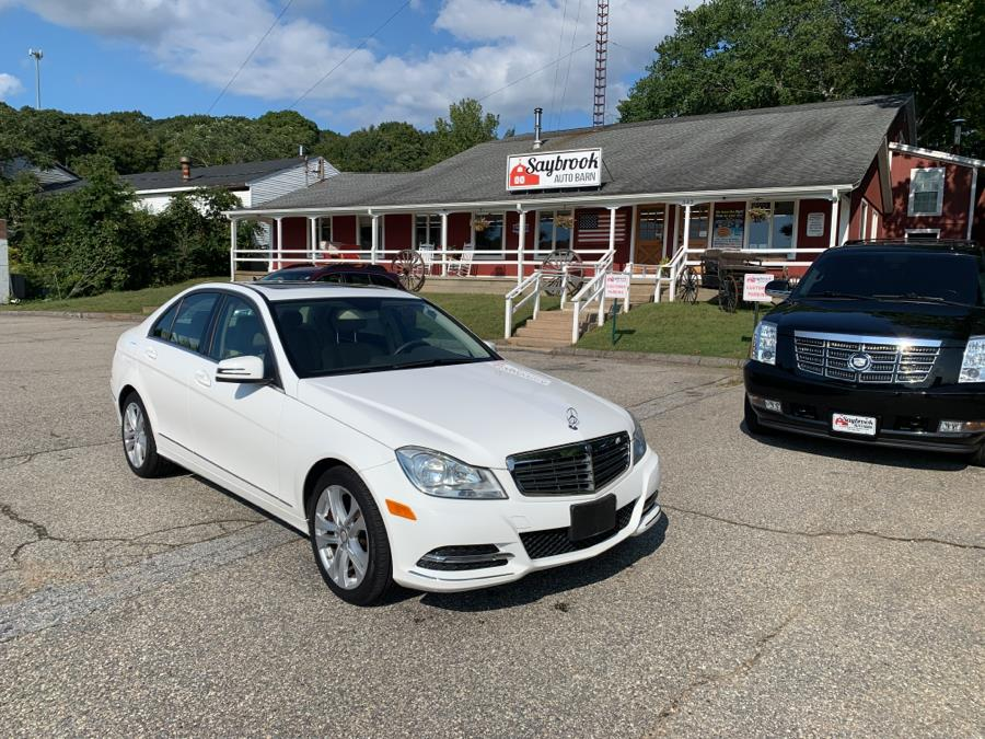 Used Mercedes-Benz C-Class 4dr Sdn C300 Sport 4MATIC 2014 | Saybrook Auto Barn. Old Saybrook, Connecticut