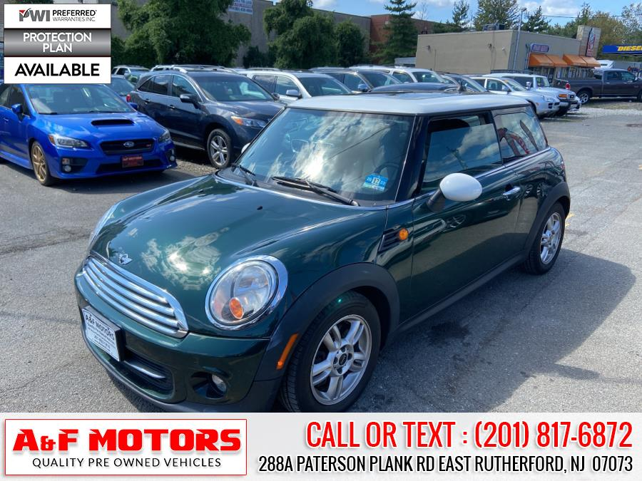 Used 2012 MINI Cooper Hardtop in East Rutherford, New Jersey | A&F Motors LLC. East Rutherford, New Jersey