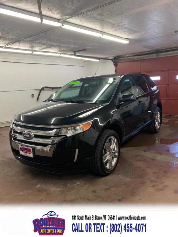 Used Ford Edge 4dr Limited AWD 2014   Routhier Auto Center. Barre, Vermont