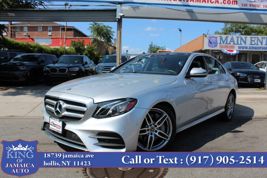 2018 Mercedes-Benz E-Class E 300 4MATIC Sedan, available for sale in Hollis, NY