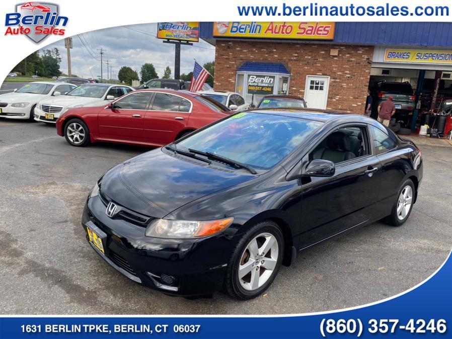 Used 2008 Honda Civic Cpe in Berlin, Connecticut | Berlin Auto Sales LLC. Berlin, Connecticut