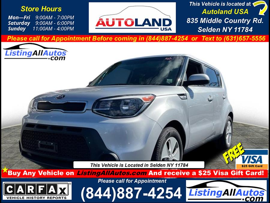 Used 2016 Kia Soul in Patchogue, New York | www.ListingAllAutos.com. Patchogue, New York