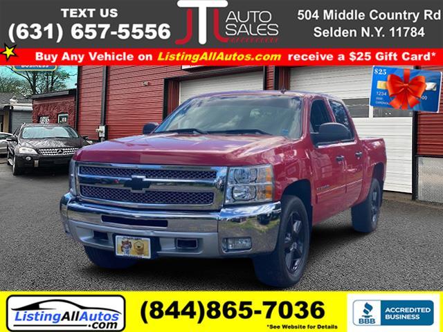 "Used Chevrolet Silverado 1500 4WD Crew Cab 143.5"" LT 2013 | www.ListingAllAutos.com. Patchogue, New York"