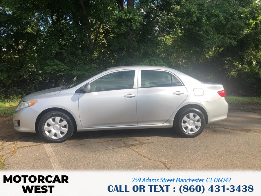 Used Toyota Corolla 4dr Sdn Auto LE (Natl) 2010 | Motorcar West. Manchester, Connecticut