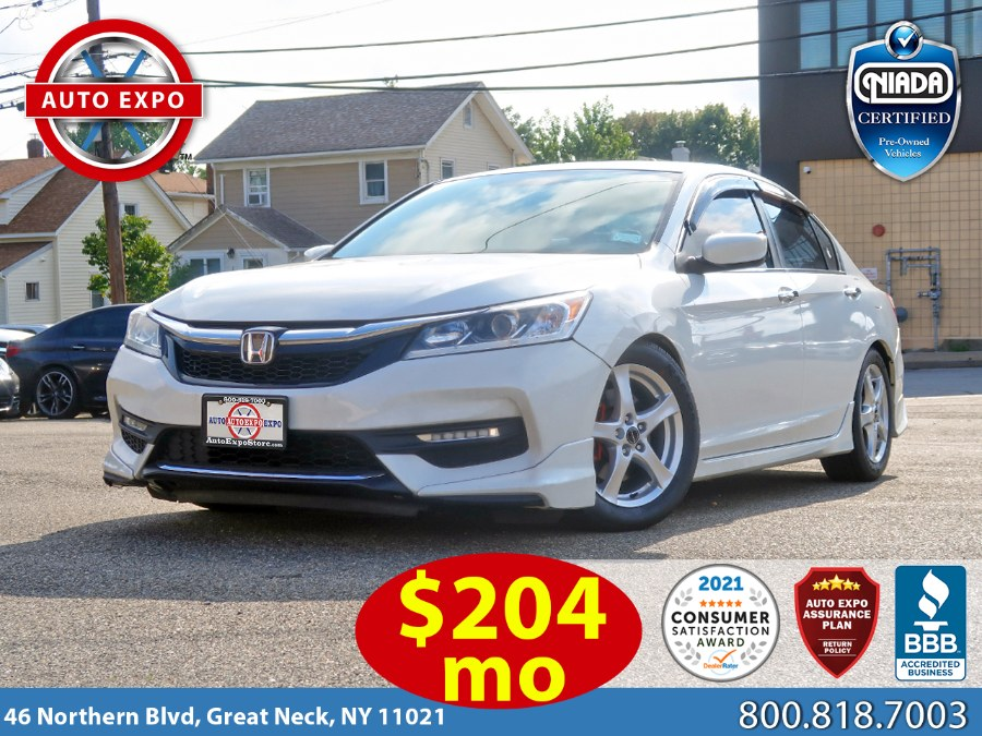 Used 2017 Honda Accord in Great Neck, New York | Auto Expo Ent Inc.. Great Neck, New York