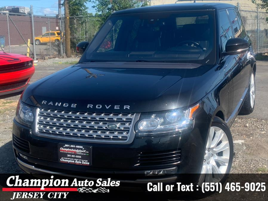 Used Land Rover Range Rover 4WD 4dr Supercharged 2016   Champion Auto Sales of JC. Jersey City, New Jersey